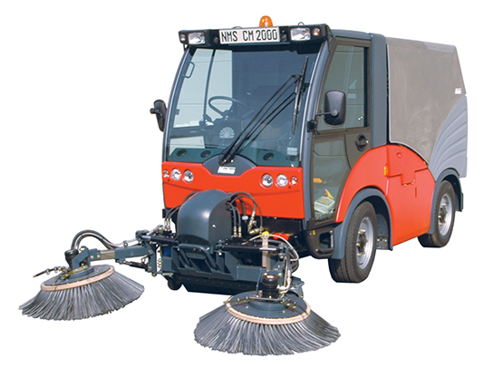 Hako Euro 5 Footpath and Street Sweeper - Citymaster 2000