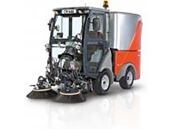 Hako Footpath Carpark Suction Sweeper - Citymaster 600