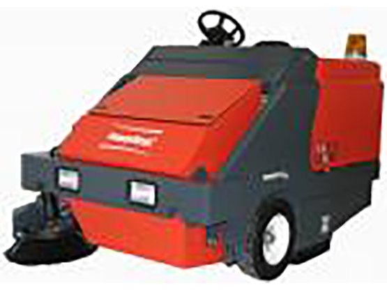 Hako Industrial Sweeper - Powerboss 134cm Armadillo 6XR