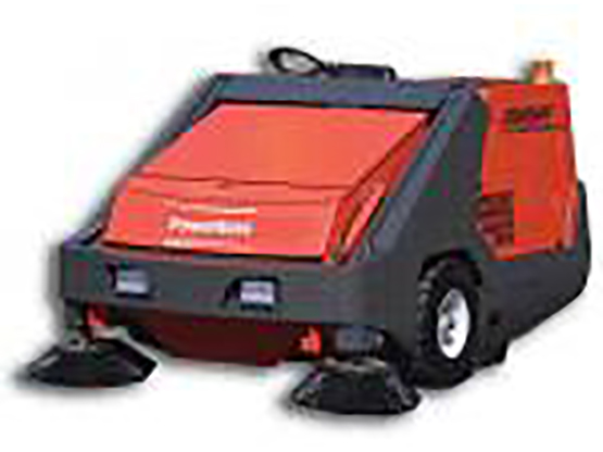 Hako Industrial Sweeper - Powerboss 158cm Armadillo 9XR