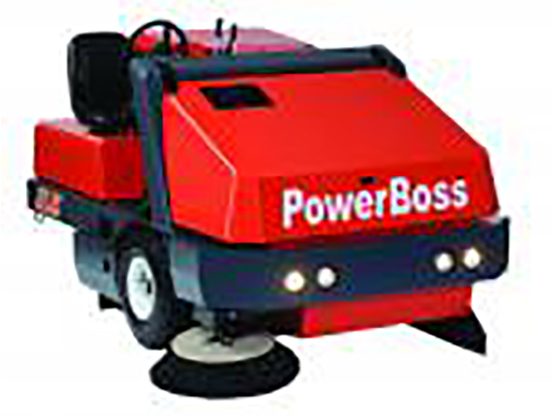 Hako Industrial Floor Sweeper - Powerboss Atlas
