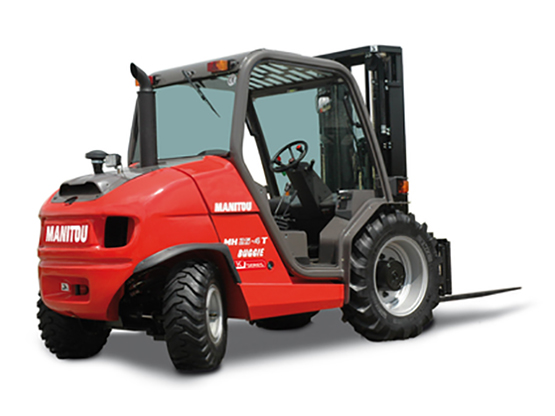 Manitou Masted Forklift Truck MH 20