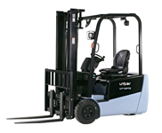 UTILEV Utility Forklift Truck - 3 Wheel Electric